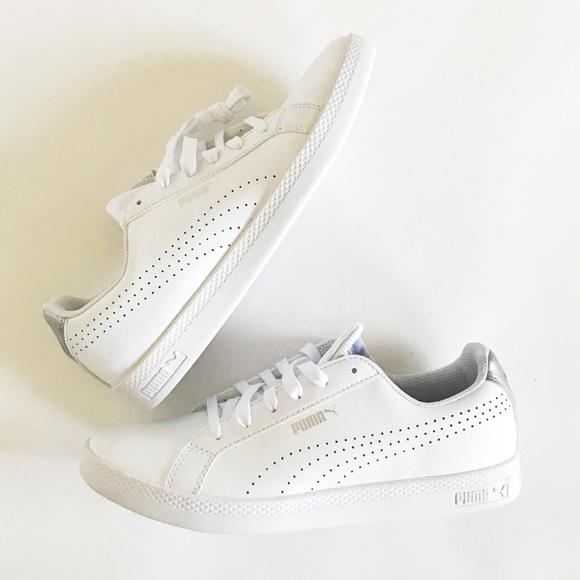 92a162e4031f Puma Ladies leather shoes